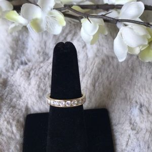 Jewelry - SILK FIT ETERNITY BAND 14K GOLD